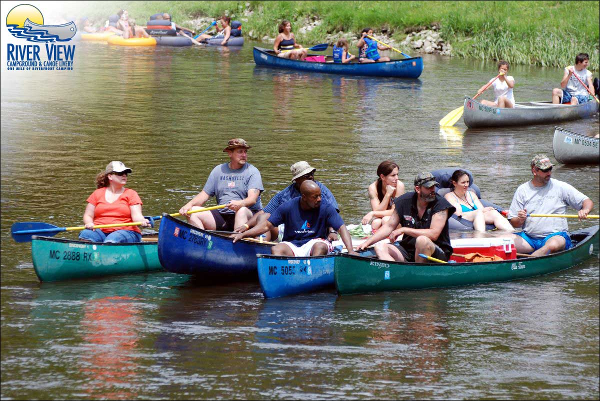 Canoe liveries - Go go natural
